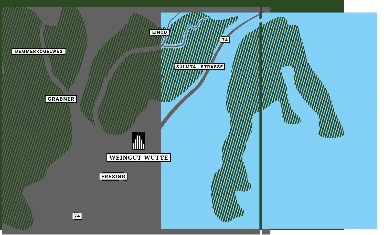 Anfahrt Route